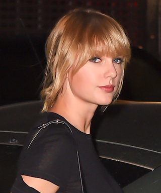 Taylor Swift Stuns in a Helmut Lang LBD While Out with Her Squad in N.Y.C.