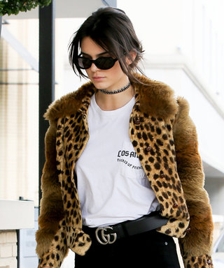 Kendall Jenner Turns to Her Favorite Leopard Print in an Eye-Catching Street Style Look