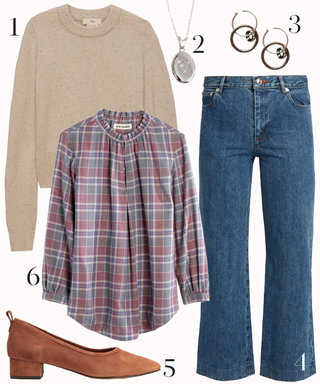 How to Make Plaid Work on a Casual Friday