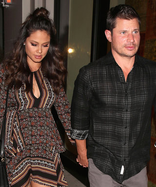 Nick Lachey and Pregnant Wife Vanessa Coordinate for Night Out in L.A.