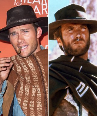 Scott Eastwood Channels His Famous Dad Clint Eastwood in Epic Western Costume for Charity Event