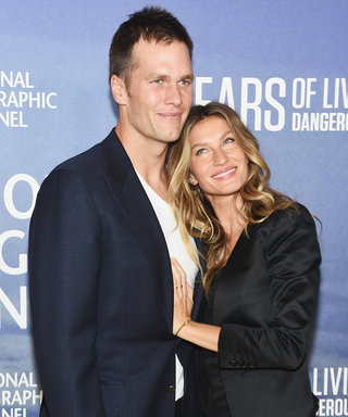Gisele Bündchen and Tom Brady's Daughter Vivian Cheers on Dad in a Teeny Patriots Jersey