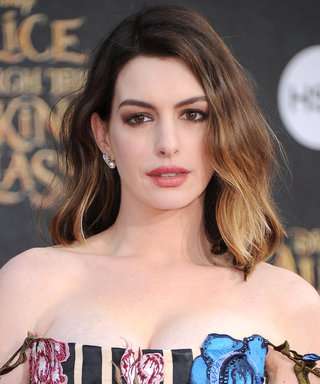 Anne Hathaway Debuted the Most Gorgeous Deep Brunette Shade