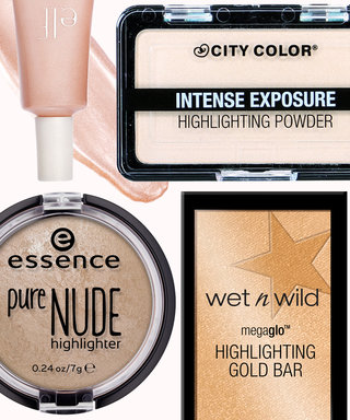 The 5 Glowiest Highlighters Under $5