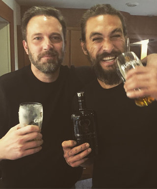 Ben Affleck and Jason Momoa Celebrate End of Justice League Filming with a Couple of Pints
