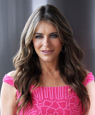 Elizabeth Hurley Sizzles in a Red Hot, Age-Defying Bikini 'Gram