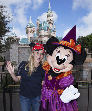 Reese Witherspoon and Son Tennessee Celebrate Halloween Early at Disneyland