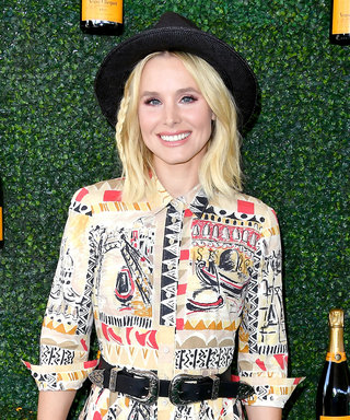 Kristen Bell Epitomizes Glam Daytime Dressing at the L.A. Veuve Clicquot Polo Classic—See All the Stars
