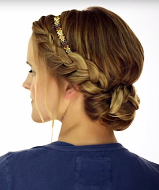 How-To: The Braided Headband Updo