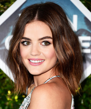 Lucy Hale Gets Kisses from Her Main Man in an Adorable Instagram Photo