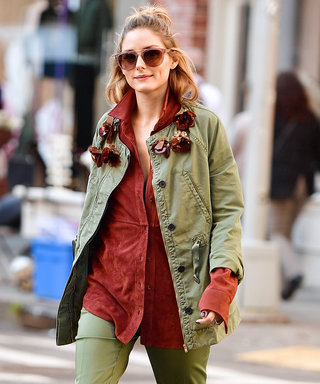 Olivia Palermo Adds a Hint of Burnt Orange Perfection to Her Latest Fall Look