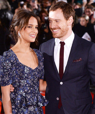 Alicia Vikander and Michael Fassbender Are Stunning at the London Premiere of The Light Between Oceans