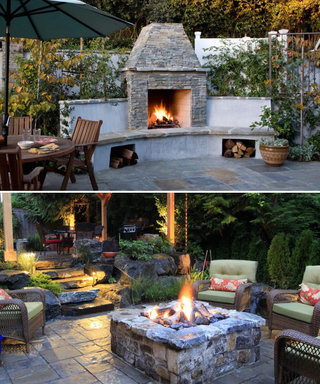 15 Fire Pit Ideas to Keep You Cozy Year-Round