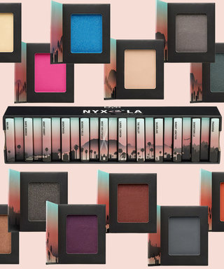 NYX Is Bringing L.A. to You in Eyeshadow Palettes