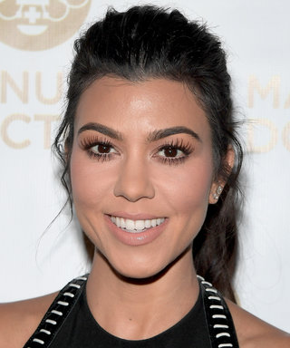 Kourtney Kardashian Rocks a Sultry LBD for a Night Out in Hollywood