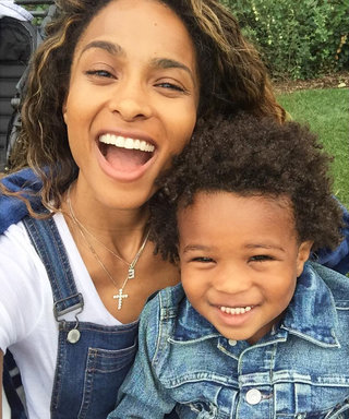 Ciara Isn't Slowing Down Her Cute Baby Belly 'Grams