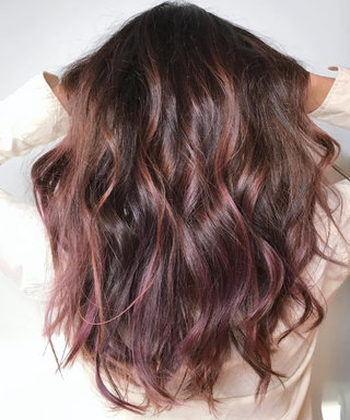 Chocolate-Mauve Hair Is the New Color Trend Blowing Up on Instagram