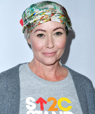 Shannen Doherty Rocks Cute Pixie Cut as Her Hair Grows Out Following Chemotherapy
