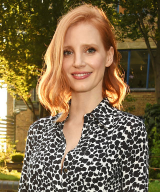 Jessica Chastain's Creepy Halloween Makeup Will Leave You Transfixed