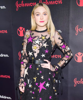 Dakota Fanning's Save the Children Gala Look Has Us Seeing Stars