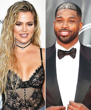 Khloé Kardashian Snapchats with Beau Tristan Thompson as He Receives His NBA Championship Ring