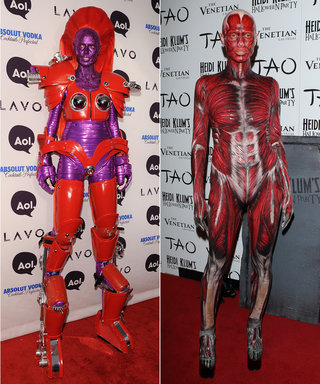 Relive Heidi Klum's Best and Wackiest Halloween Costumes Through the Years