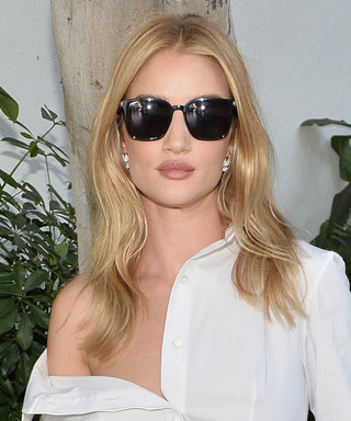 "Rosie Huntington-Whiteley Completely Redefines ""Business Casual"" with This Outfit"