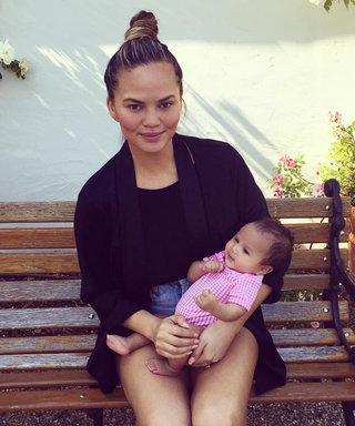 Chrissy Teigen's Photo of Her Daughter Luna in a Hot Dog Costume Will Make Your Day