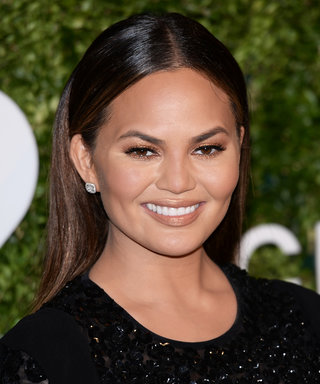 Chrissy Teigen Attends Kanye West's Concert in a Slip Dress and Thigh-High Boots