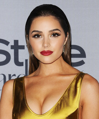 Olivia Culpo's Rose-Hued Outfit Is the Work of a Monochrome Master