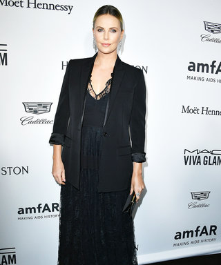 "Charlize Theron Jokes, ""I Am Very Fat Right Now,"" in Her Inspiring amfAR Gala Speech"