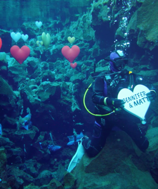 This Underwater Proposal in Iceland Is Melting Our Hearts