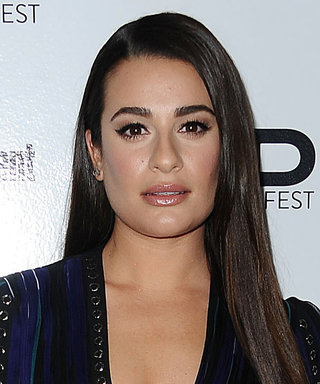 Lea Michele's Thigh-High Slit Screams Sexy at EW PopFest
