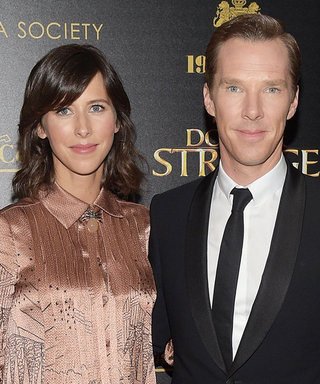 Benedict Cumberbatch's Expectant Wife Sophie Hunter Glams Up Her Bump in Valentino