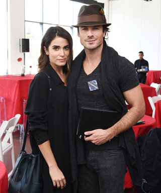 Ian Somerhalder's and Nikki Reed's All-Black Looks Are Fit for the Modern Vampire