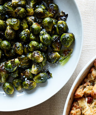 Ina Garten's Two-Step Roasted Brussels Sprouts Are Thanksgiving Bliss