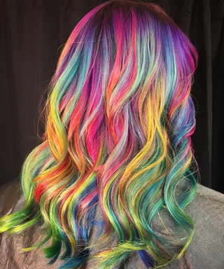 Lisa Frank Hair Is Every '90s Kid's Dream