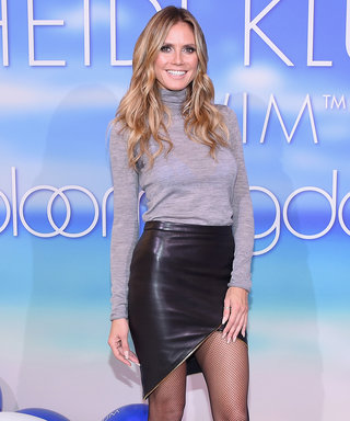 Snag Heidi Klum's Clever Trick for Feeling Confident in Your Swimwear