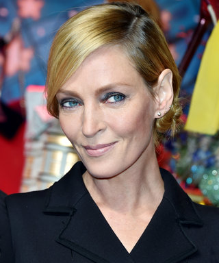 Uma Thurman Wields a Sharp Instrument à la Kill Bill for a Paris ...