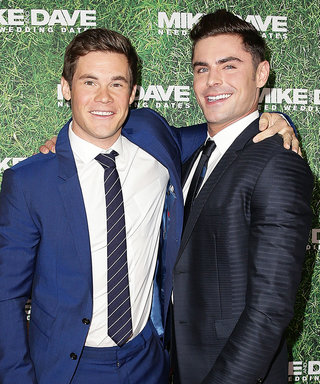 Zac Efron Takes His Bromance with Birthday Boy Adam DeVine to New Heights