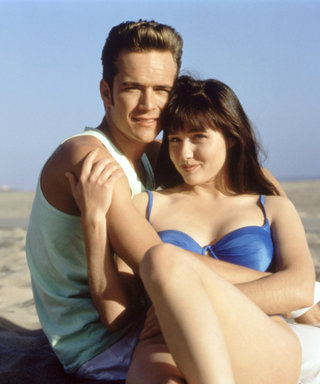 """Luke Perry Pays Tribute to 90210 Co-Star Shannen Doherty: """"None of Us Are Up Here Without Shannen"""""""