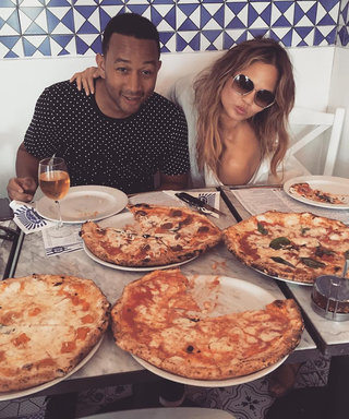 Pizza ATMs Are Coming, and No One's More Excited Than Chrissy Teigen