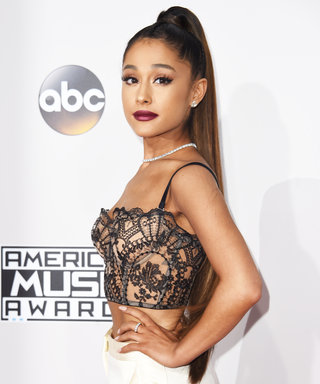 Ariana Grande's Grandma Surprises Her Backstage at the AMAs