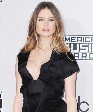Behati Prinsloo Makes Her Post-Baby Red Carpet Debut in a Mini