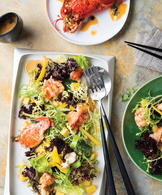The Kardashian-Jenner Clan Is Obsessed with This Lobster Mango Salad