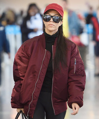 What to Pack in Your Carry-On, According to Kourtney Kardashian