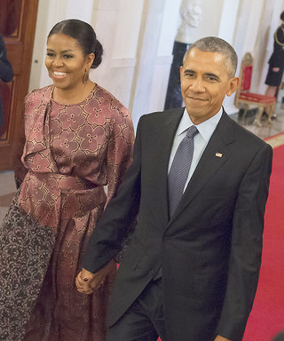 The First Lady Re-Wore This Dress to the Medal of Freedom Ceremony