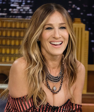 Sarah Jessica Parker's Trick to Pairing Tights with Open-Toe Heels
