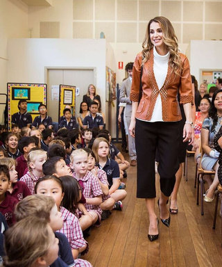 Queen Rania of Jordan Delivers High Style Down Under on Sydney Tour
