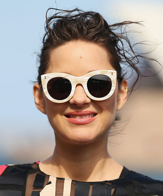 Marion Cotillard and Her Bump Make a Colorful Appearance in Australia